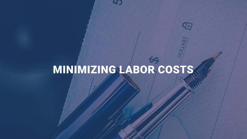 Minimizing Labor Costs