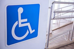 Sign for disability accessibility